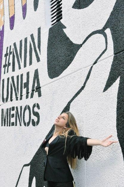 Foto de Lasdosmarias, Lupita real e Lupita de parede