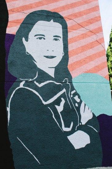 Imaxe mural de Cruz