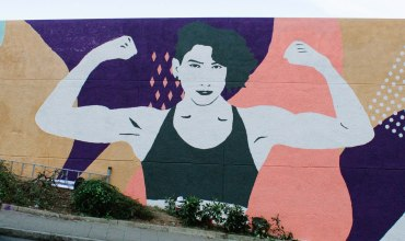 Miriam Gutierrez versión mural